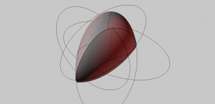 ellipsoid booleans | various