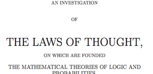 laws of thought [boole]