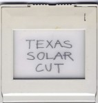 texas solar cut | LAND proposal 2011