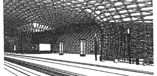 supporting structure for freeform surfaces in buildings [patent]