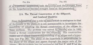 thread construction of the ellipsoid and confocal quadrics | hilbert pp. 19 - 24
